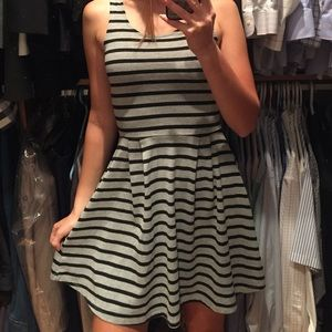 ONLY Grey and black striped dress 💥LOWEST PRICE